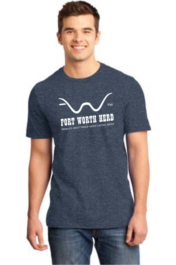 Fort Worth Herd Logo Tee