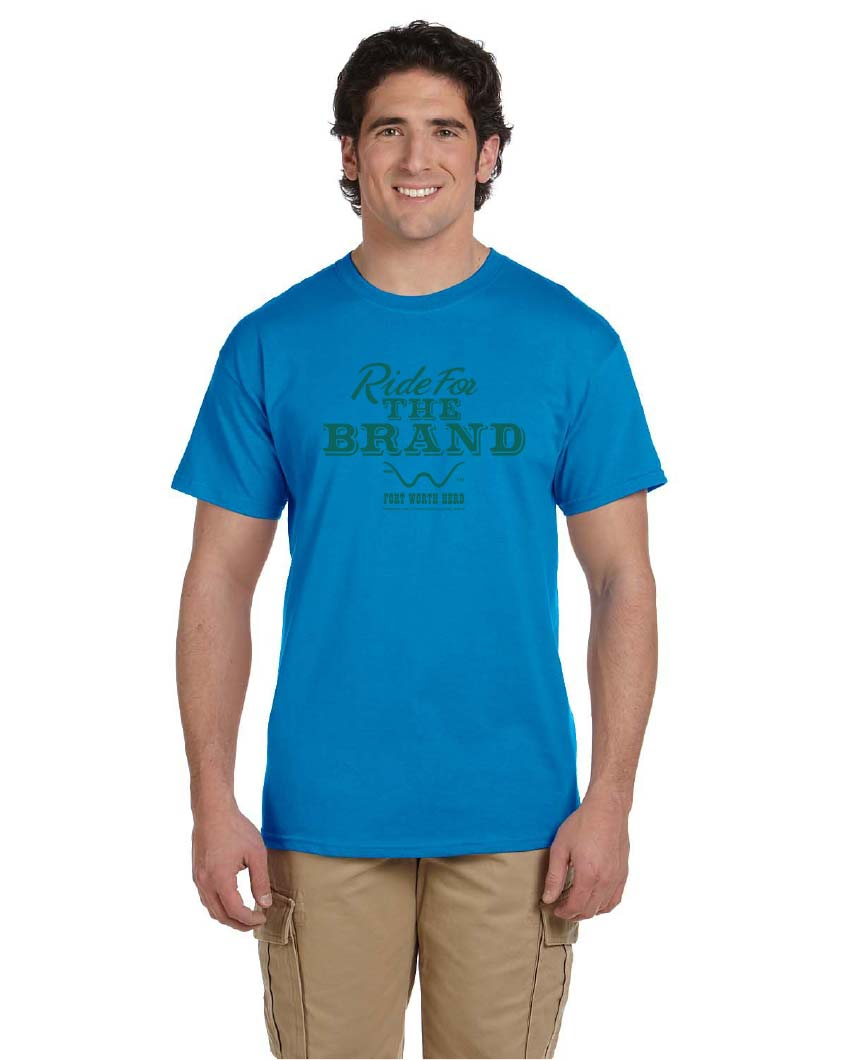Fort Worth Herd Ride for the Brand Tee