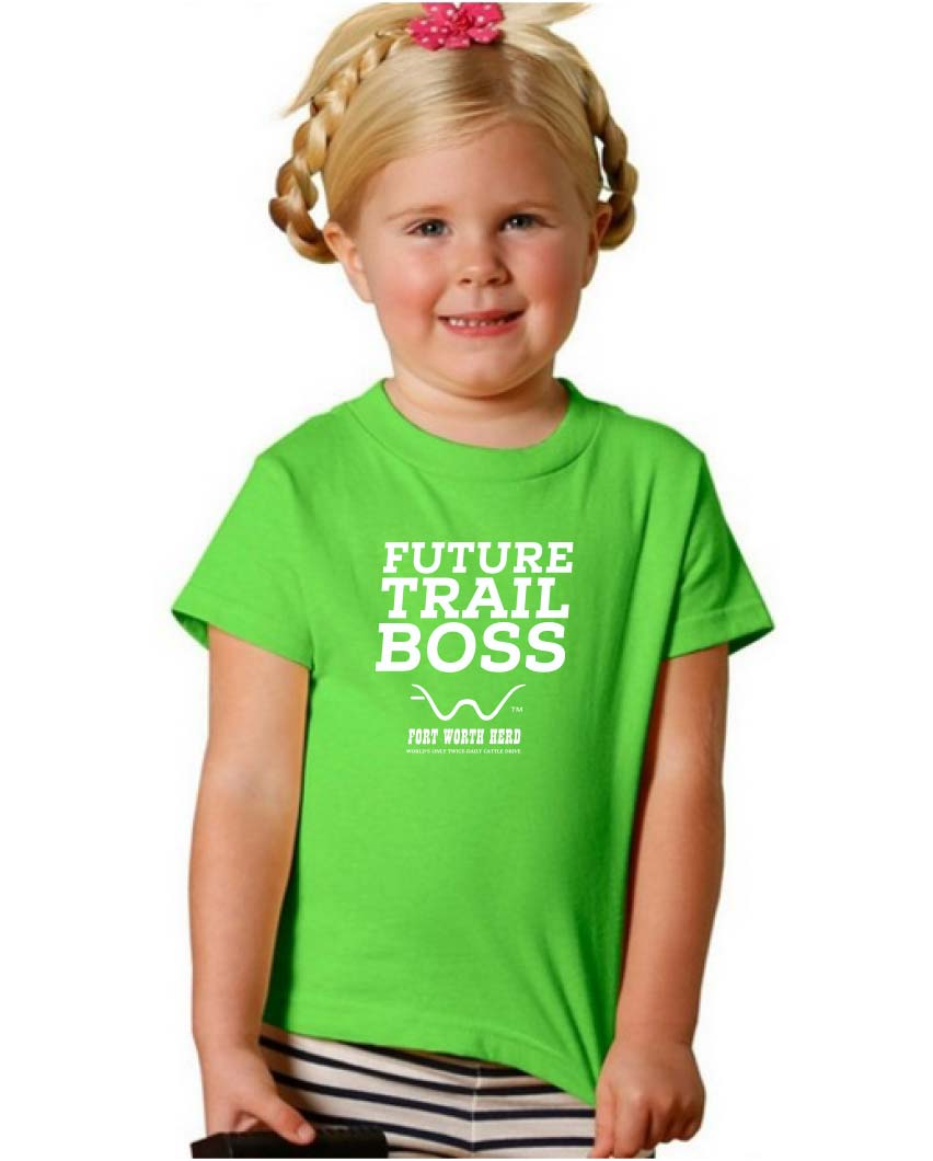 Fort Worth Herd Future Trail Boss Toddler Tee